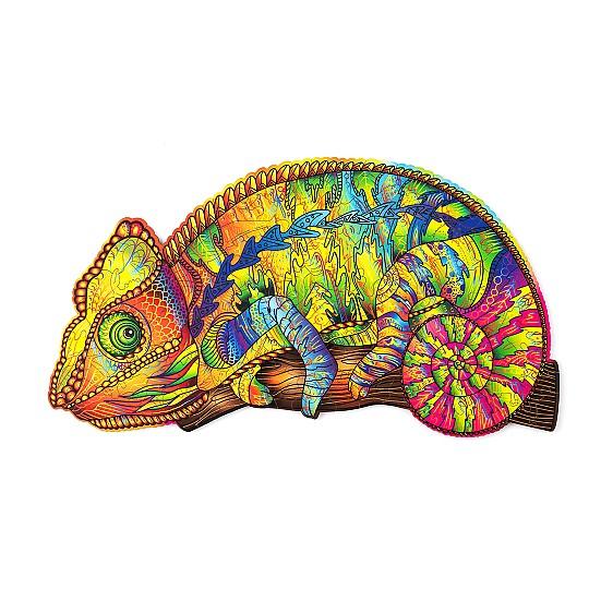 Este es el camaleón