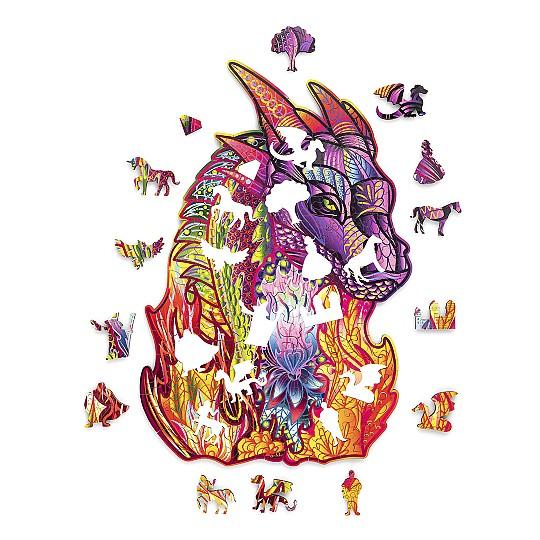El dragón tiene 184 piezas
