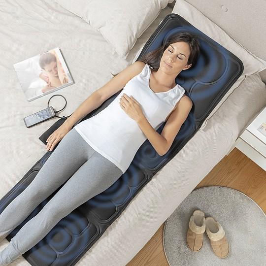 Su masaje vibratorio proporciona una agradable sensación de relax