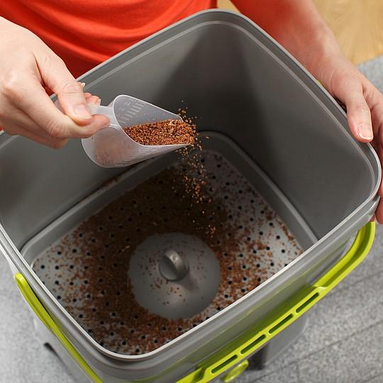 No necesita bolsas de eliminación de desechos orgánicos