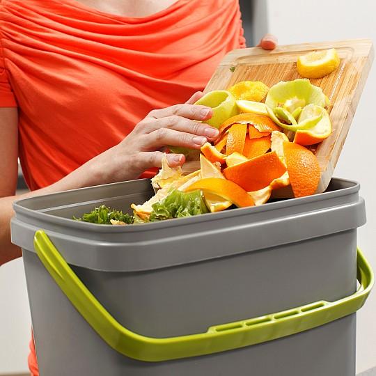 Prepara los desechos orgánicos