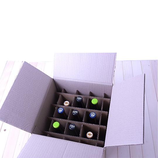 Vienen embaladas en una caja de cartón ilustrada