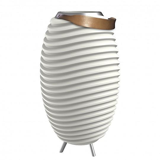 Este dispositivo de diseño nórdico es una lámpara led
