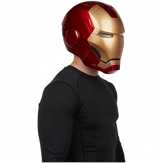 Casco electrónico de Iron Man