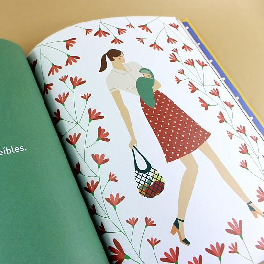 Un libro con preciosas ilustraciones