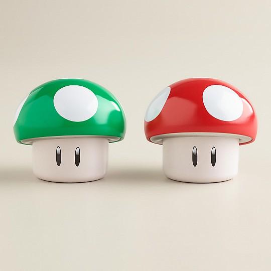 Cajita de caramelos con forma de seta de Super Mario Bros