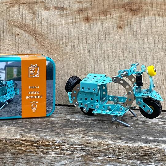 Kit para construir una scooter
