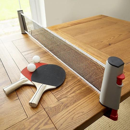 Un set de ping pong para llevar a cualquier parte