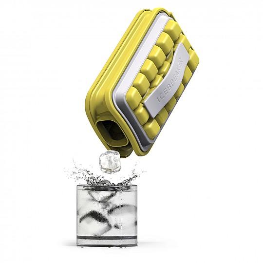 El recipiente termoeficaz evita que los cubitos se derritan