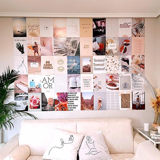 De estilo moderno en colores blanco y beige