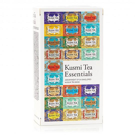 24 bolsitas de gasa de doce variedades de té