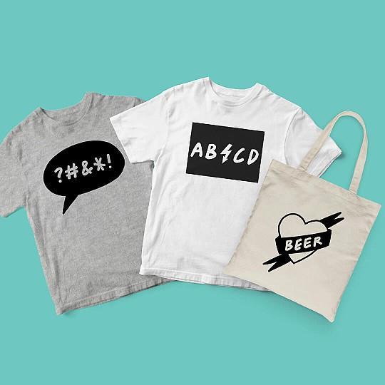 Estampa bolsos, camisetas...lo que tú quieras