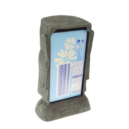 Cabe una caja de pañuelos rectangular