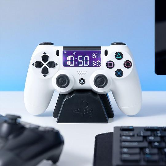 Reloj despertador con forma de mando de PlayStation PS4