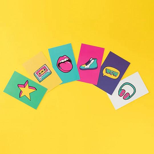 6 tipos de tarjetas diferentes