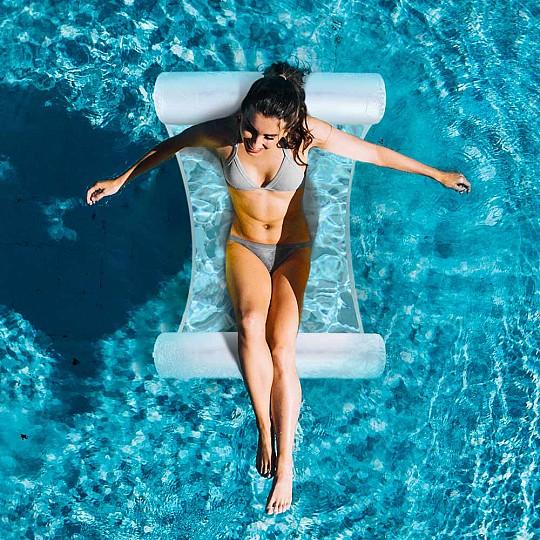 Hamaca hinchable para piscina