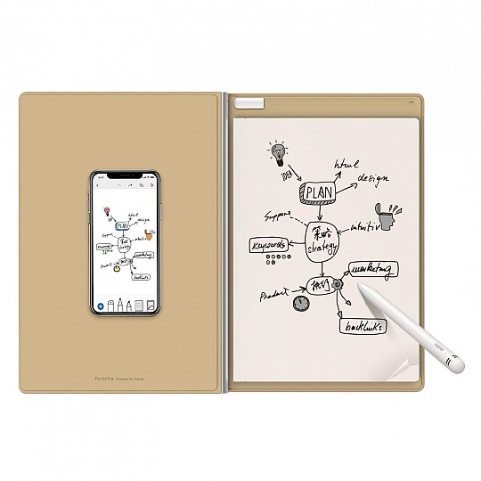 Escribe a mano en papel y envía tus textos a tus dispositivos favoritos