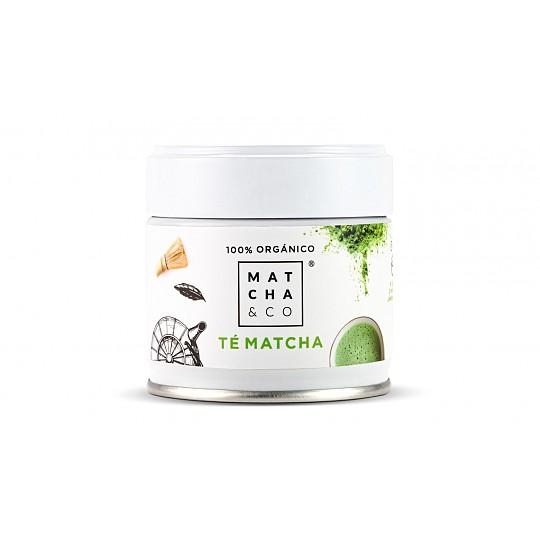 Tarro de 30 g de té matcha ecológico