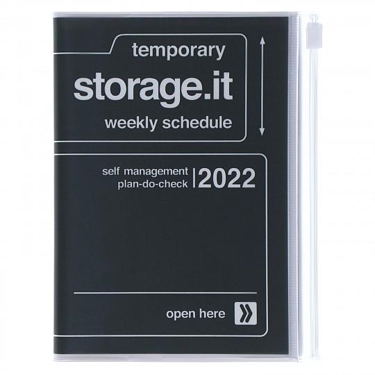 Agenda 2022 A5 Storage.it Negra