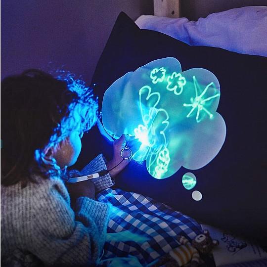 Funda de almohada infantil interactiva