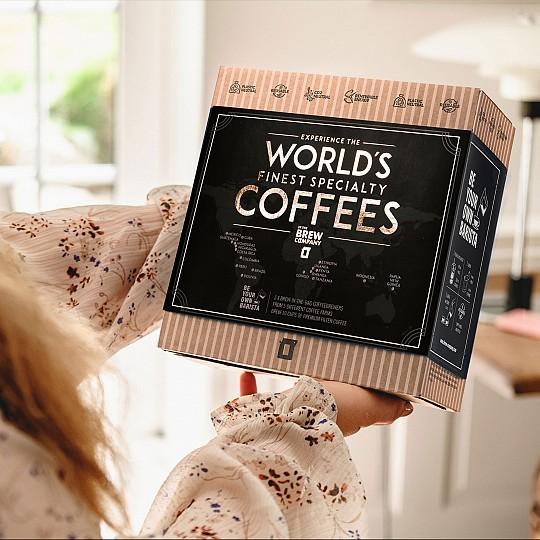 A los amantes del buen café les encantará porque son cafés de Colombia, Honduras, Etiopía, Guatemala y Brasil