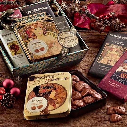 Amatller es la marca de chocolates más antigua de España
