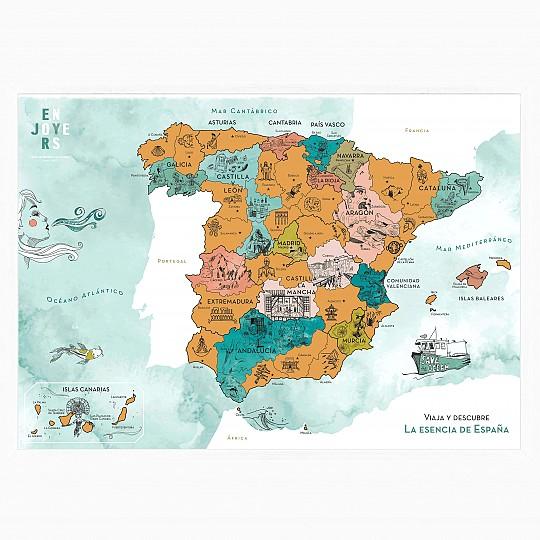 Viaja y rasca a tu vuelta, será un aliciente para conocer nuevas provincias de España