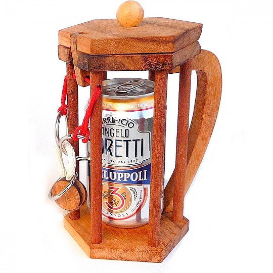 Tócale las narices a tu amigo cervecero con este rompecabezas para no beber cerveza