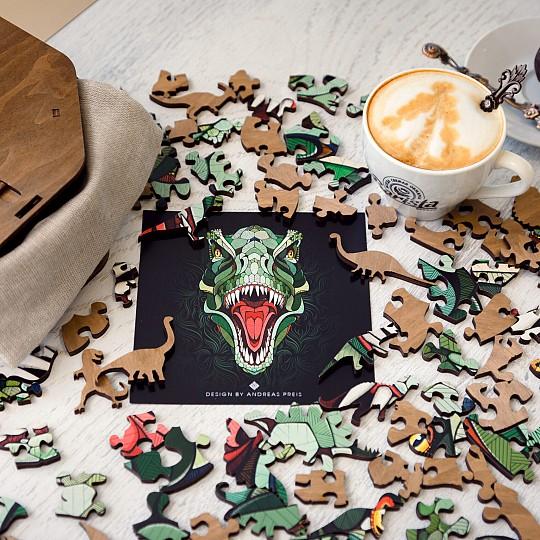 Los puzzles de madera EWA están disponibles con la forma de tres animales diferentes