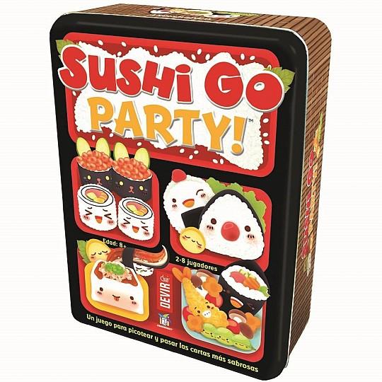 En el Sushi Go Party! tendrás que sumar todos los puntos que puedas para ganar