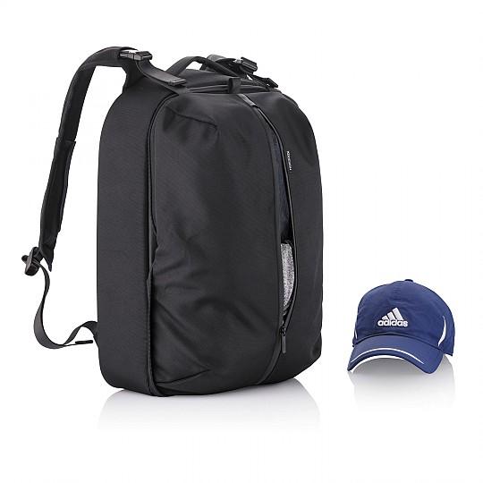 Se crea un bolsillo estilo mochila de deporte