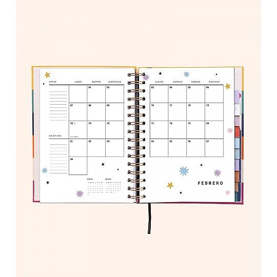 Organízate el mes de estudio con los planning mensuales