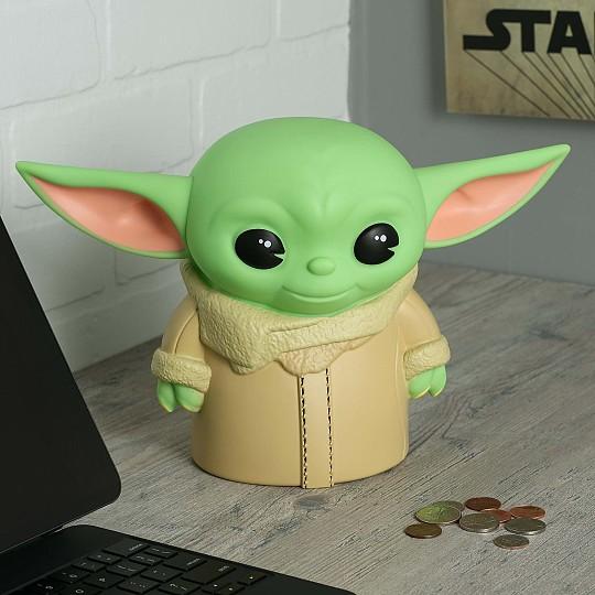 Una hucha muy original con la forma de Baby Yoda