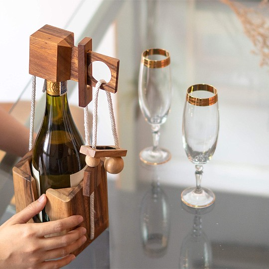 Es válido para botellas de vino de tamaño estándar (75 cl)