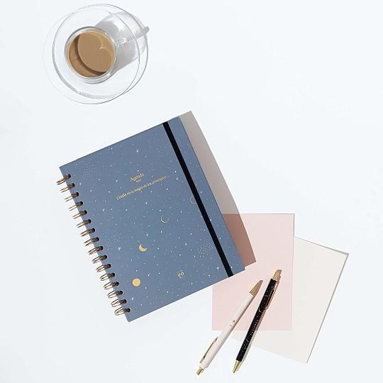 Una agenda con un diseño muy creativo que te ayudará a motivarte