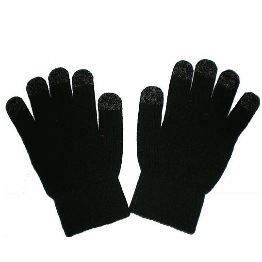 Las diez puntas de los dedos de los guantes funcionan sobre las pantallas táctiles