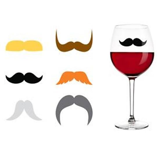 Seis bigotes para distinguir las copas