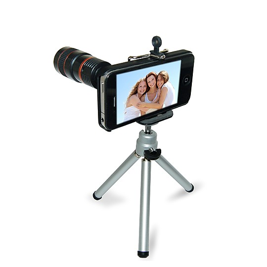 El zoom para iPhone 4 y 5 Eye Scope