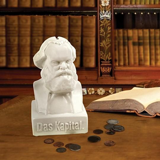 La figura de Marx es imponente