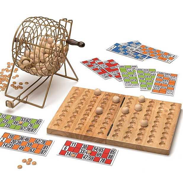Juego de bingo en edición deluxe. Curisosite