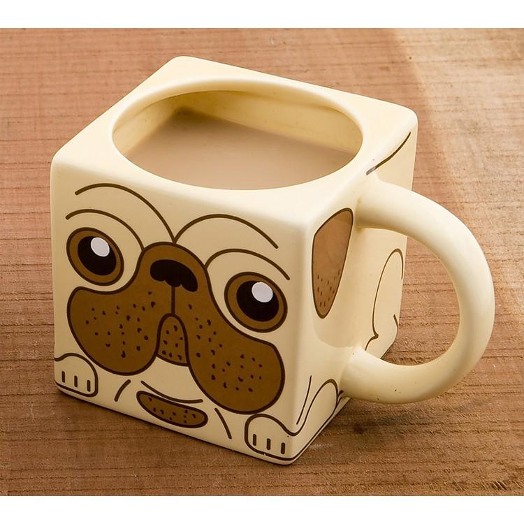 Taza perro carlino for Tazas de cafe originales