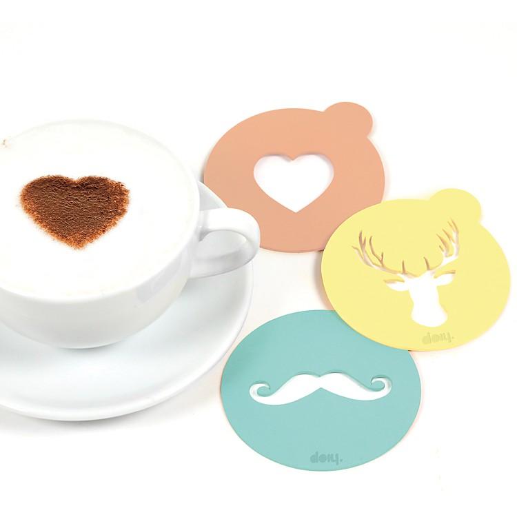 Plantillas para decorar el caf hip coffee - Plantillas pared ...