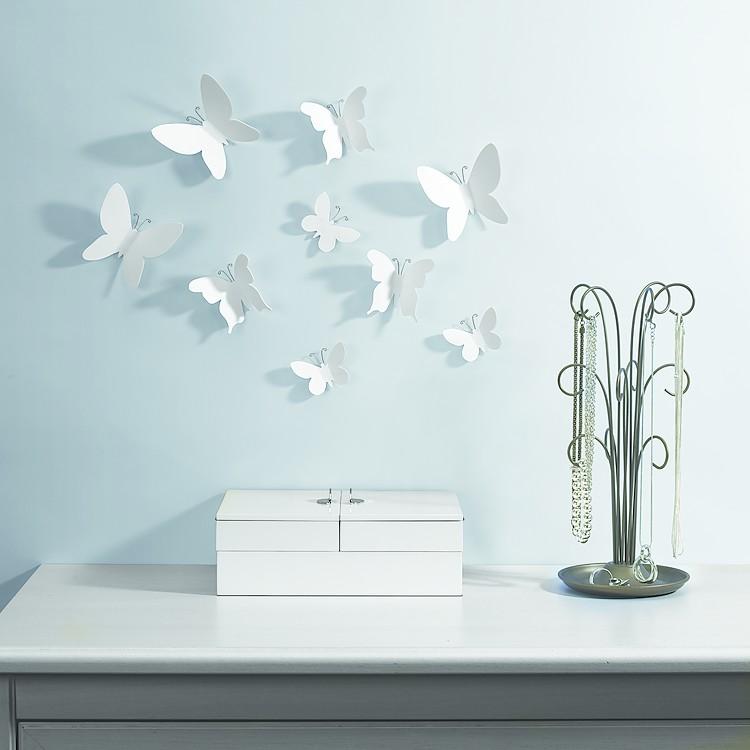 Mariposas para decorar for Decorar una casa antigua