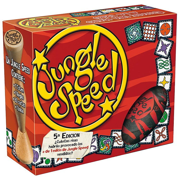 Juego de cartas jungle speed for Ni si ni no juego de mesa