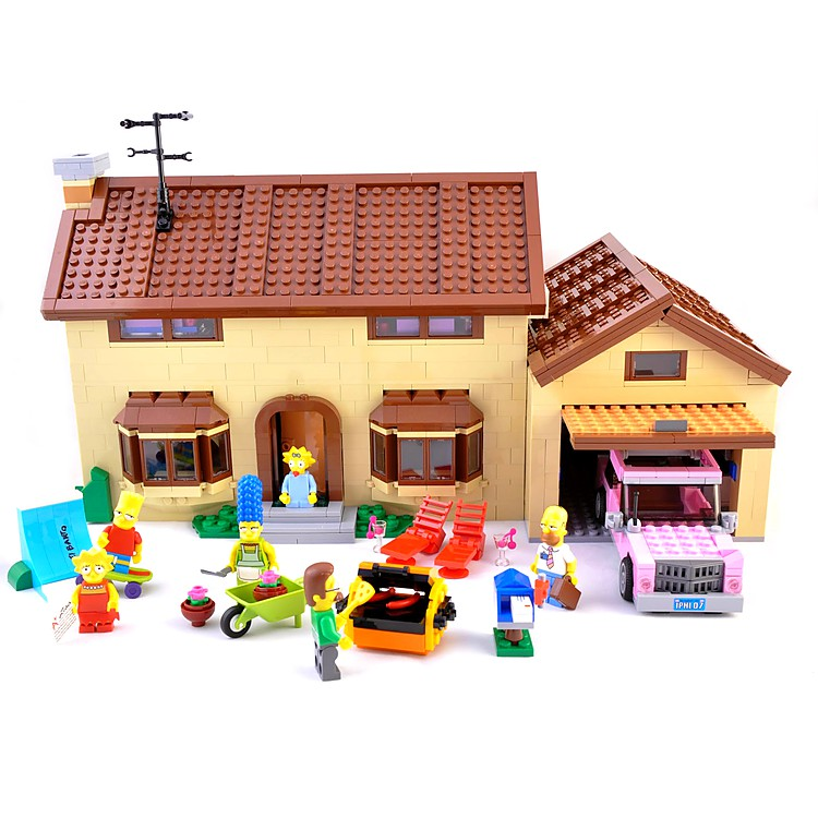 Casa de los simpsons de lego regalos originales y review - Regalos originales casa ...