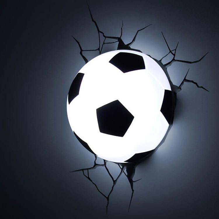 Soccer Ball Lamp Australia: Luz Quitamiedos 3D Deco Lights Balón Fútbol
