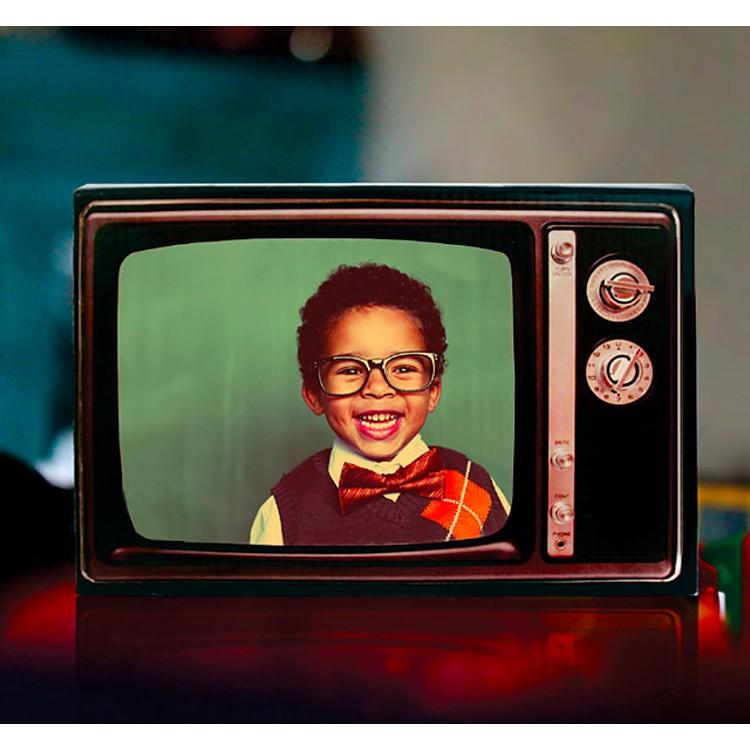 Marco de Fotos TV Retro