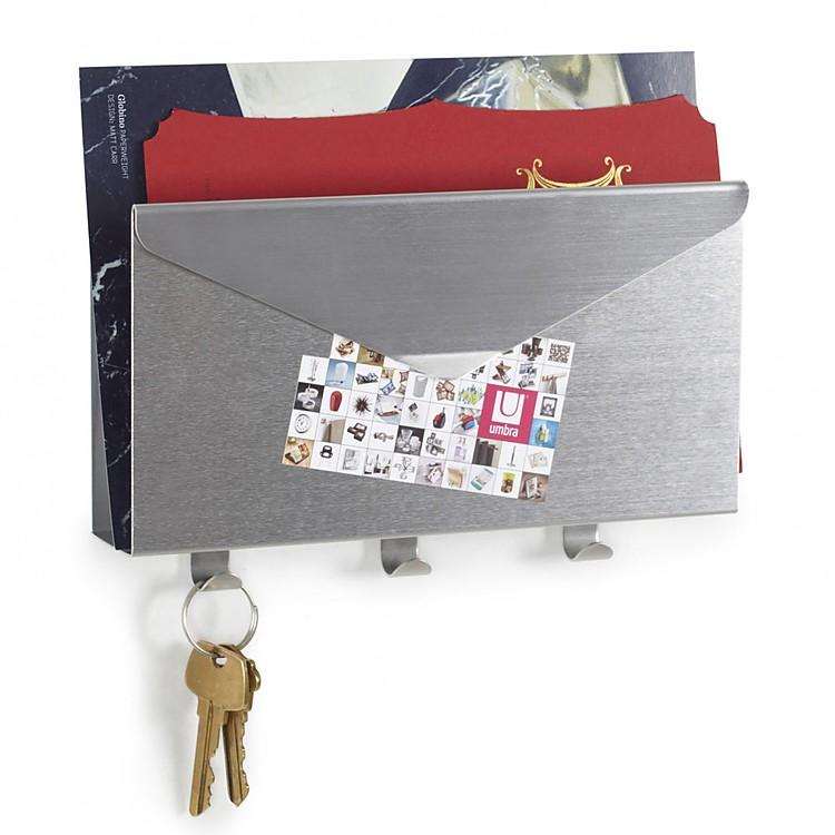 Organizador de pared lettro - Para colgar llaves ...
