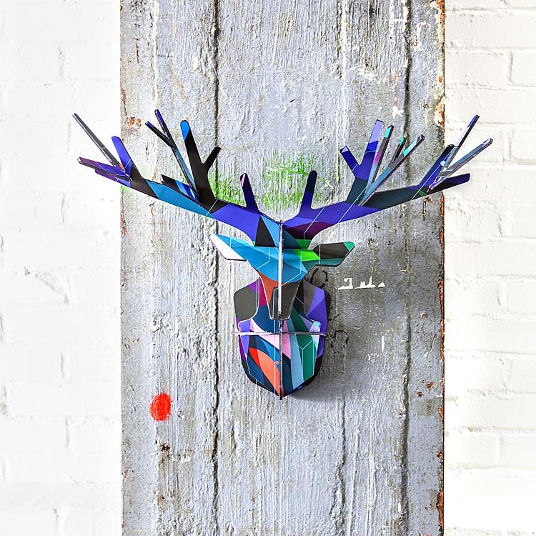Cabeza de ciervo totem enchanted deer - Cabeza ciervo carton ...