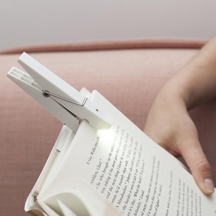 Pinza l mpara de lectura - Lamparas para leer libros ...